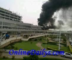 Murtala Muhammed International Airport fire outbreak photo 2