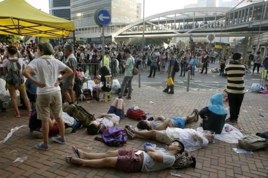 Photos of Hong Kong protests