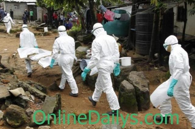 ebola outbreak in Sierra Leone, Guinea and Liberia