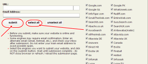 Search engine submitter | ONLINE DAILYS