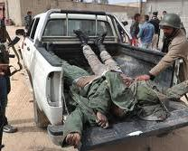Libya soldiers killed