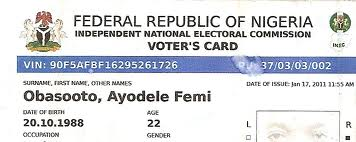 Voters Replace Nigeria Damage Or Card In To Your How Lost