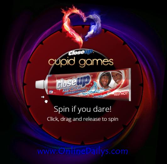 Closeup Cupid Games