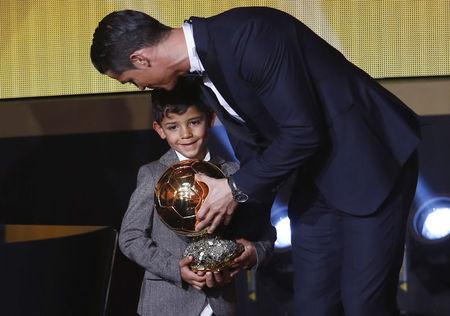 Cristiano Ronaldo's son