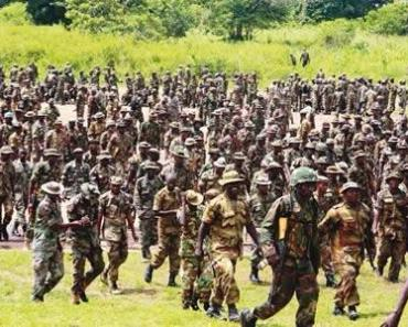 203 Nigerian soldiers dismissed