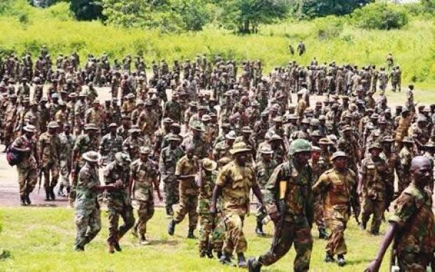 203 Nigerian soldiers dismissed