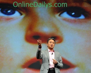 Sony CEO Speaks out