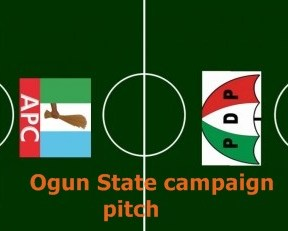 Ogun State pdp vs apc campaign pitch
