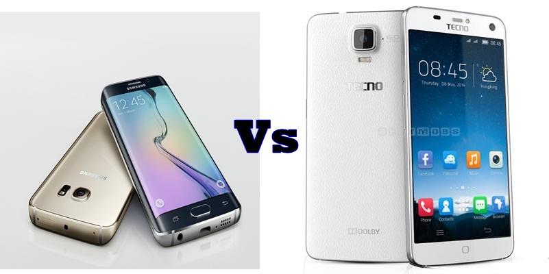 Galaxy S6 Edge vs Tecno Phantom Z