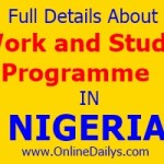 Does Work and Study Programme participate in NYSC?