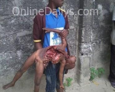 16yr old kills 4yr old boy in Lagos