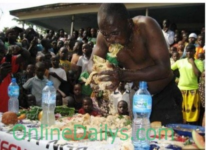 Man eats to death in Food competition 2
