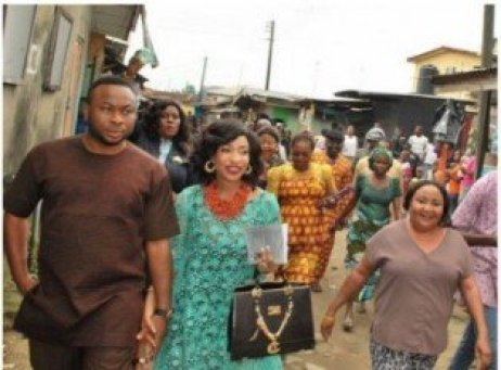 Tonto Dikeh introduction pictures
