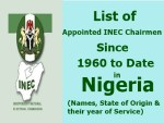 Past INEC Chairmen of Nigeria From 2010 Till Date