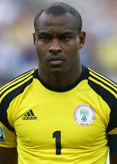 Nigeria Super Eagles Goalkeeper Vincent Enyeama