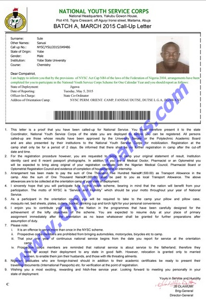How To Write A Letter Of Complaint To Nysc Unpaid Nysc