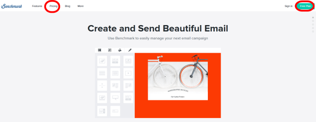 Benchmark Email Marketing Service