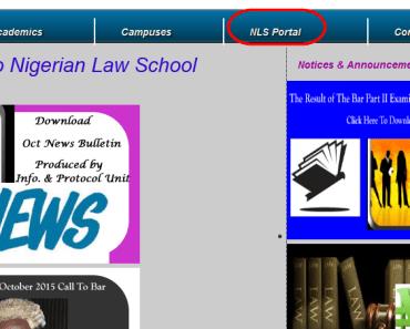 Check Nigerian Law School Bar Part II results September 2015