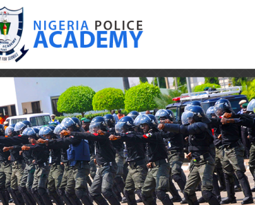 2016 Nigeria Police Academy Application Form