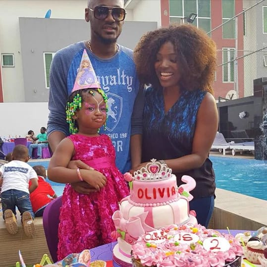 2face Celebrates daughter's Birthday 1