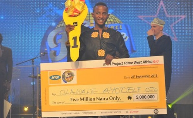MTN Project Fame West Africa 2013 Winner - Olawale