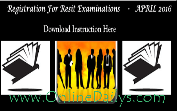 Nigerian Law School 2016 Resit Exam Registration