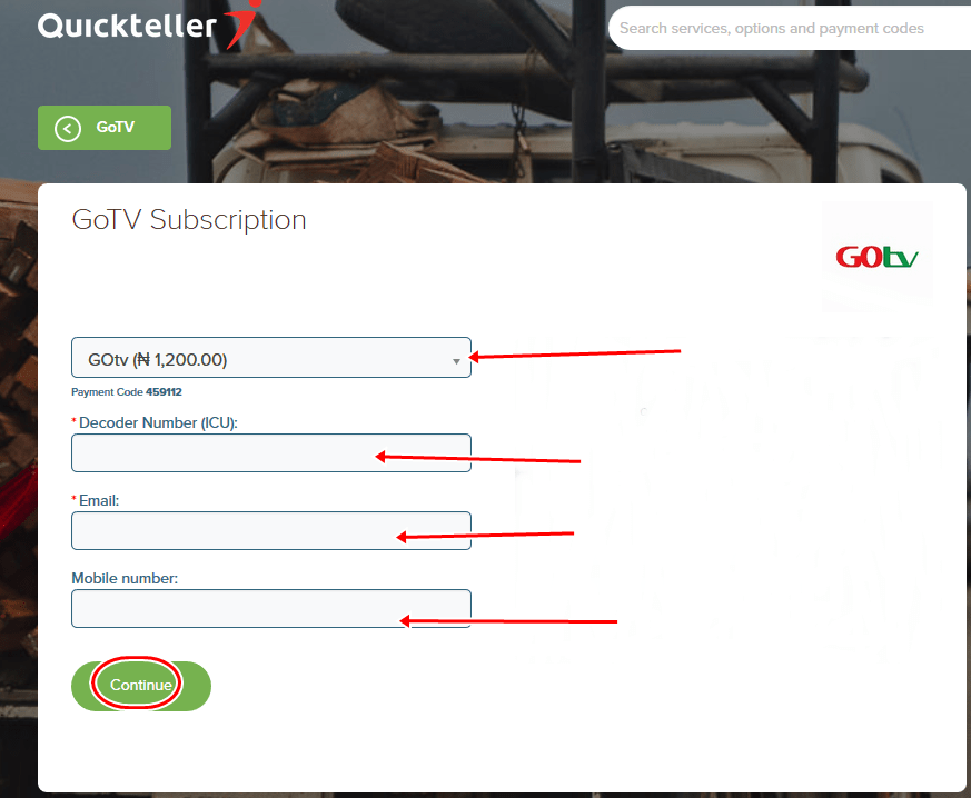 How To Subscribe for GOtv Channels Online in Nigeria