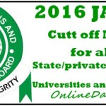 Official Admission Cut-Off Mark is180, FG Scraps Post-UTME