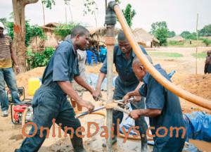 The manual drilling method