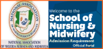 Admission Requirements for School of Nursing & Midwifery