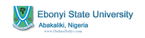 EBSU Admission Requirements for 2016/2017   Ebonyi State University