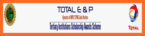 NNPC / Total E&P Scholarship Scheme