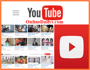 Youtube sign up Account Registration