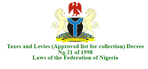 Approved Taxes and Levies Collection