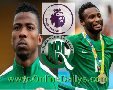 Nigeria Highest Paid Footballer Premier League