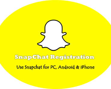 SnapChat Registration for New Account
