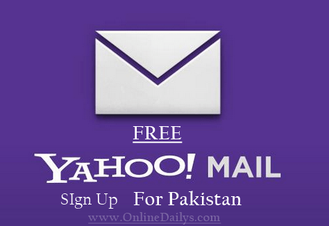 Yahoo Registration for Pakistan