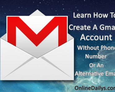Banner on Create A Gmail Account Without Phone Number