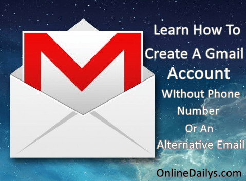 How To Create A Gmail Account Without Phone Number or