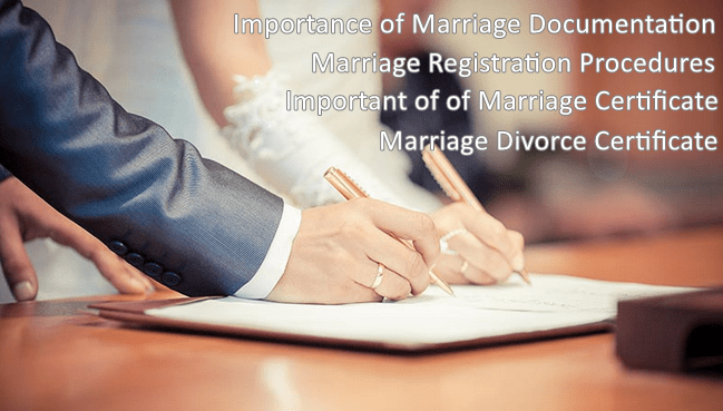 Marriage Registration Requirements