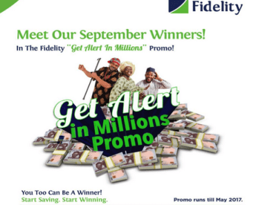Fidelity Bank Get Alert In Millions Promo