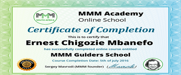 Processes And Requirements Of Becoming An MMM Guider 1