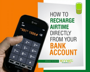 Recharge Your Phone From Your Bank Account