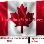 Canadian Visa Lottery: How to Apply studying & working visa in Canada by Lottery