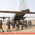 List of Nigeria Military Armed Forces Recruitment to Application Online