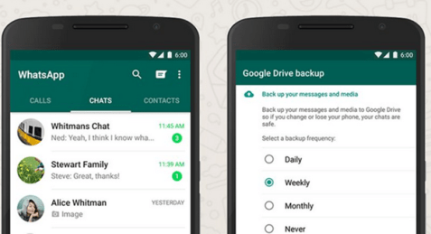 WhatsApp Tips: How To Back Up And Restore Whatsapp Chats 1