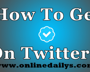 How To Obtain A Verified Twitter Account