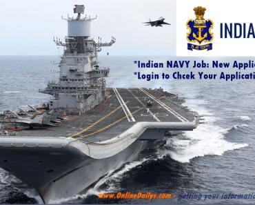 Logo: Indian NAVY Recruitment Portal