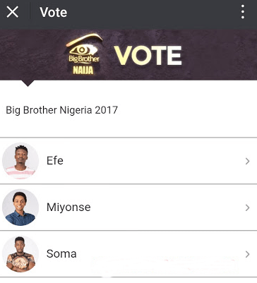 Vote For Big Brother Naija Housemates For Free