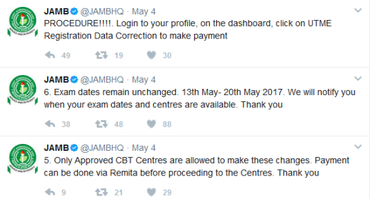 How To Correct Mistakes Made During Jamb Registration – Edit Your Jamb Profile Details